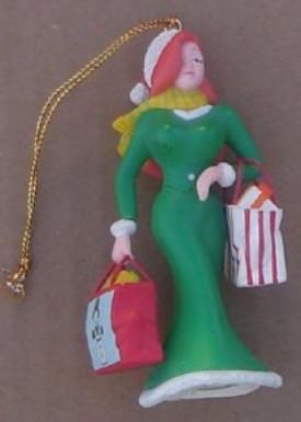 Jessica Rabbit Figure Christmas Resin Ornament