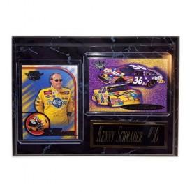 2002-2003 Nascar Racing Kenny Schrader #36 Wall Plaque
