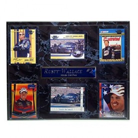 2004 Nascar Racing Rusty Wallace #10 Wall Plaque