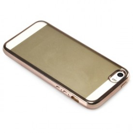 Onn ONB16WI035 Case with Electroplated Edge for iPhone 5/5s/SE, Pearl Blush