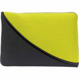 PC Treasures FlipIt! Reversible Sleeve for 10-Inches Neoprene Tablet PC - Chartreuse/Black (07105)