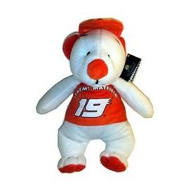 Accelerator Bear Nascar Collectible Series #19 Jeremy Mayfield 13 Plush