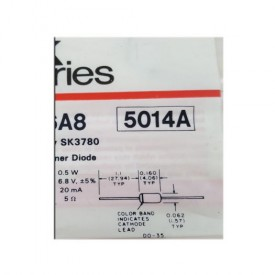 SK Series VCR Replacement Part Diode No. SK6A8 (Formerly SK3780)