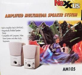 Nexxus AM105 Multimedia Computer Speakers