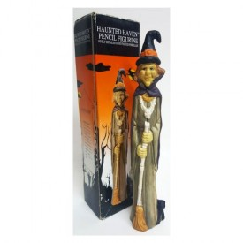 Haunted Haven Pencil Figurine Skinny Witch 10