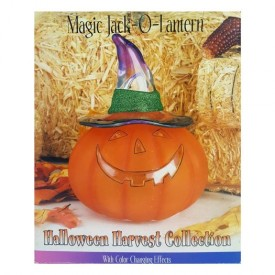 2004 Heritage Mint Halloween Harvest Collection Magic Jack O Lantern With Changing Effects HA13