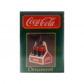 1989 Coca-Cola 6-Pack Bottles 25 Cents Ornament 38004