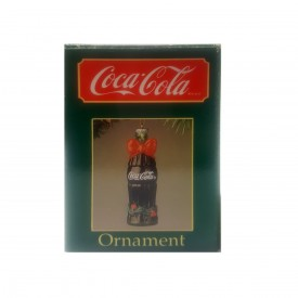 1989 Coca-Cola Bottle Ornament 38002