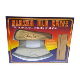 Alaska ULU Knife w/ Display Stand