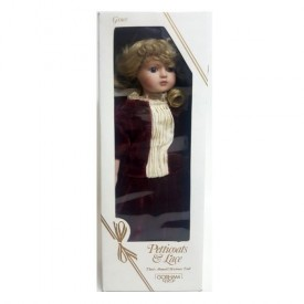 1988 Gorham Petticoats & Lace Grace Third Annual Christmas Doll 18