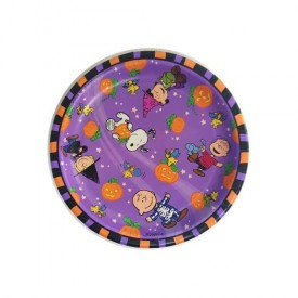 Peanuts Gang Halloween Paper Dinner Plates 8-3/4 Set of 8