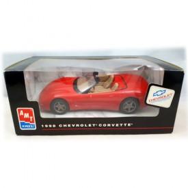 AMT ERTL 1998 Chevrolet Corvette Red Plastic 1:25 Scale