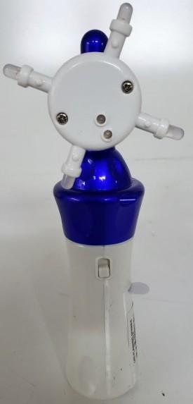 LED Flashing Spinner Wands - Blue