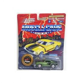 Johnny Lightning Muscle Cars 1/64 Die Cast Replica 1971 Hemi Cuda Green