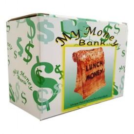 Good Gallery Inc Lunch Money Lunch Bag Porcelain Bank