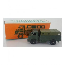 Vintage Toy Russian Diecast Boehhar Texhnka WWII WW2 Military Covered Army Truck with Box