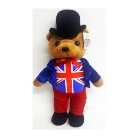 Nanco Toy Connection International United Kingdom Union Jack Flag Teddy Bear 16