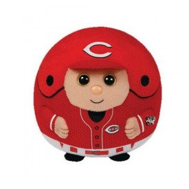 TY MLB Beanie Ballz - CINCINNATI REDS (LARGE - 12 inch tall)