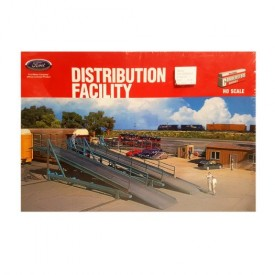 Walthers Cornerstone Series HO Scale Ford Distribution Facility Plastic Model Kit 933-3076