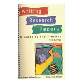Writing Research Papers: A Guide to the Process (Paperback)
