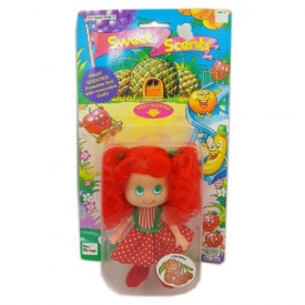 Vintage Toy Things Sweet Scents Doll 5-1/2 No. 4232 - Cherry