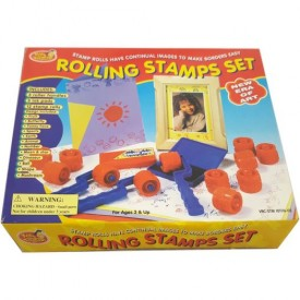1997 Kids Club Rolling Stamps Set Ages 3 And Up No. 39480