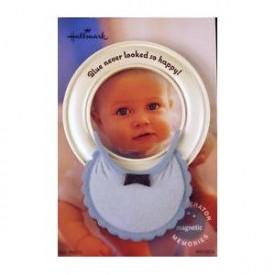 Hallmark Magnetic Refrigerator Frame: Baby Boy