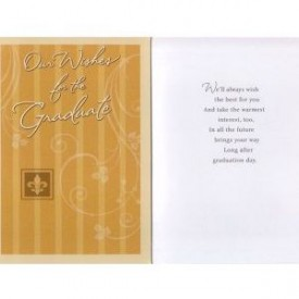 Graduation Greeting Card From All Of Us [Office Product]