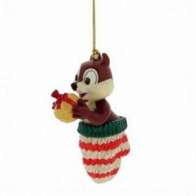 Disney Christmas Magic Ornament, Chips Stocking