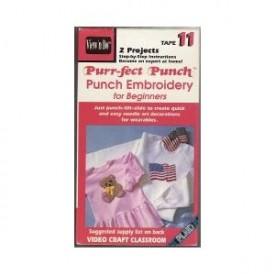 Punch Embroidery for Beginners Tape 11 [VHS Tape] [1991]