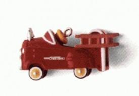Kiddy Car Classics Murray Fire Truck 2nd in Series Miniature 1996 Hallmark Ornament QXM4031