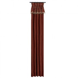 Jennifer Taylor Bacara Collection Curtain Panel, 20-Inch by 120-Inch