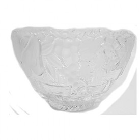 Gorham Spring Traditions Country Terrace 9 Frosted Crystal Serving Bowl