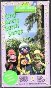 SING ALONG EARTH SONGS SESAME [VHS] [VHS Tape] [1993]