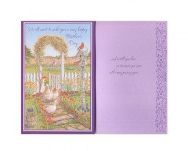 Mothers Day Greeting Card From Us [Office Product]
