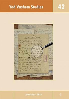 Yad Vashem Studies Volume 42 (Paperback)