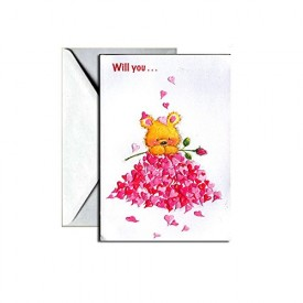 Valentines Day Greeting Card - Will You... [Office Product]