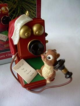 Hallmark Keepsake Ornament Chatty Chipmunk 1998 QX6716