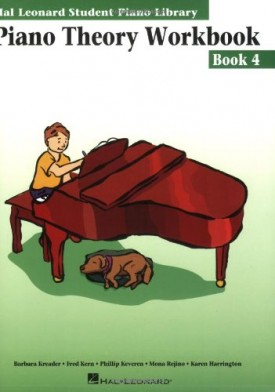Piano Theory Workbook - Book 4: Hal Leonard Student Piano Library (Paperback)