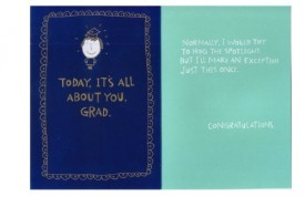 Graduation Greeting Card Funny [Office Product]