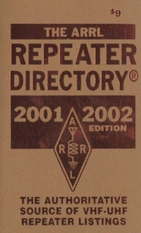 The Arrl Repeater Directory 2001 2002 (Paperback)