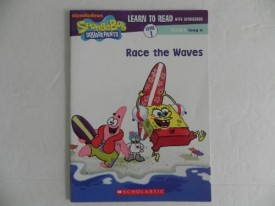 Race The Waves (Learn to Read with Spongebob, Level 1 Long a) (Paperback)