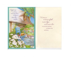 Mothers Day Greeting Card Faith, Hope & Love [Office Product]