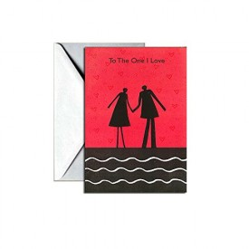 Valentines Day Greeting Card - The One I Love [Office Product]