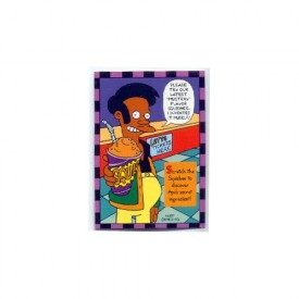 Simpsons Skybox Trading Card Smell-O-Rama #8 [Toy]