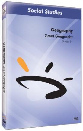 Sunburst Visual Media DVD & VHS Video Set: Great Geography (Grades 5-10) (DVD)