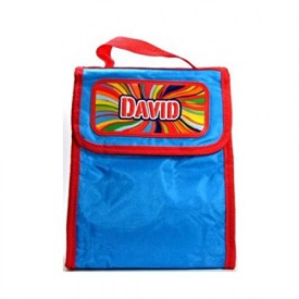 Personalized Lunch Bag--David