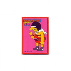The Simpsons Skybox Bartman Trading Card Half-Nelson B9 [Toy]