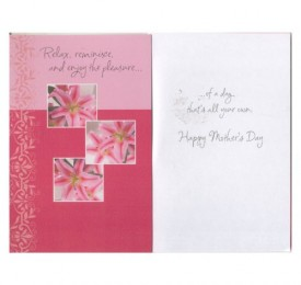 Mothers Day Greeting Card Tender Thoughts Collection [Office Product]