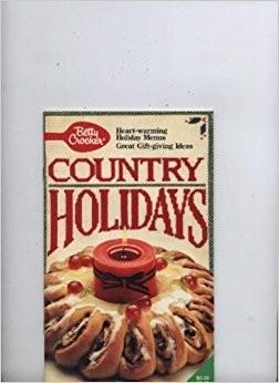 Betty Crocker Country Holidays (Cookbook Paperback)